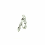 Earrings, white gold, huggies, diamond earrings, twist earring, clasp, comfort wear, fine jewelry, best price, women's jewelry, accessories, gold