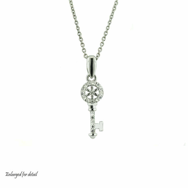 silver, key, necklace, mothers day, talisman, pendant, designer jewelry, 925, gift, key pendant, sterling silver, fine jewelry, best price