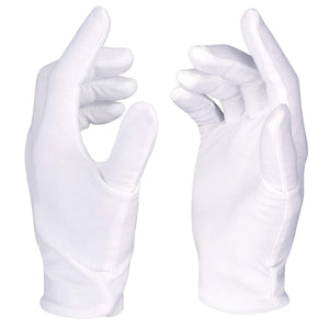 Misterosupply-light-weight-inspectors-glove-ladies-lisle-white