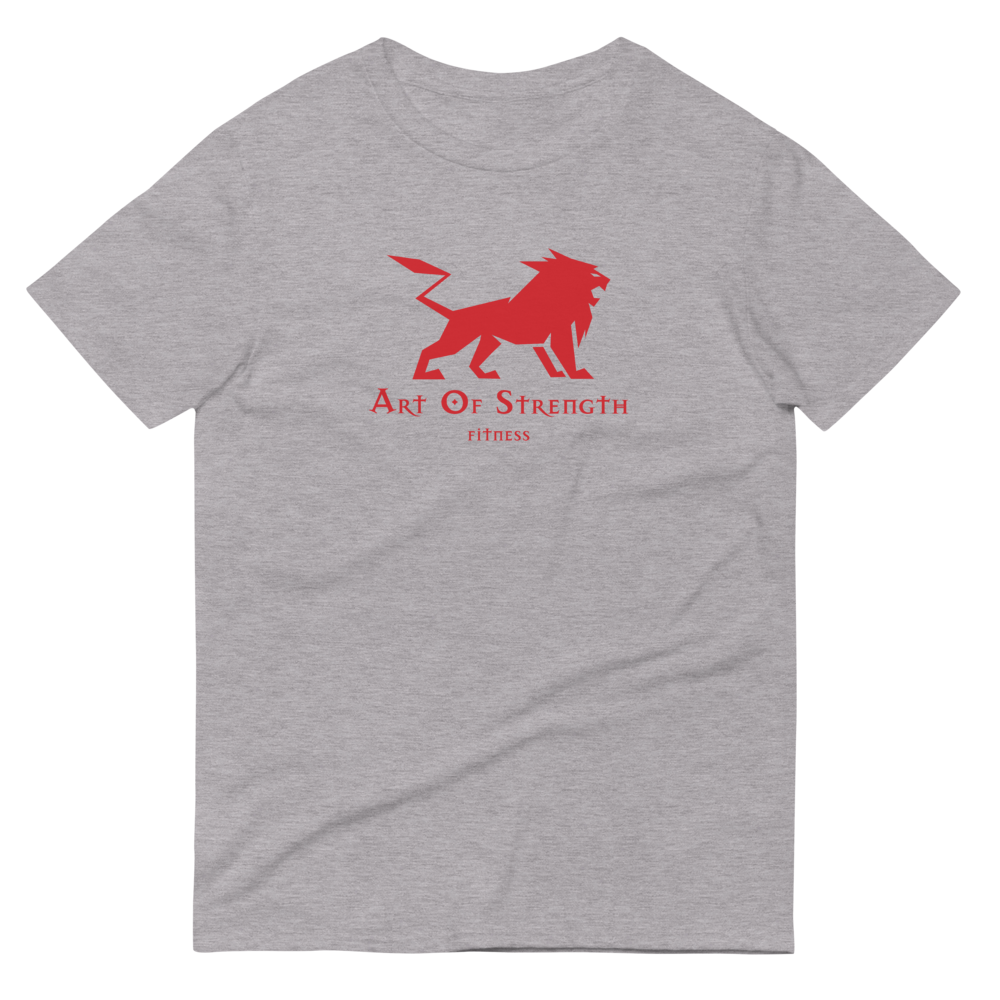 Original Short-Sleeve T-Shirt Front Red AOSF Logo