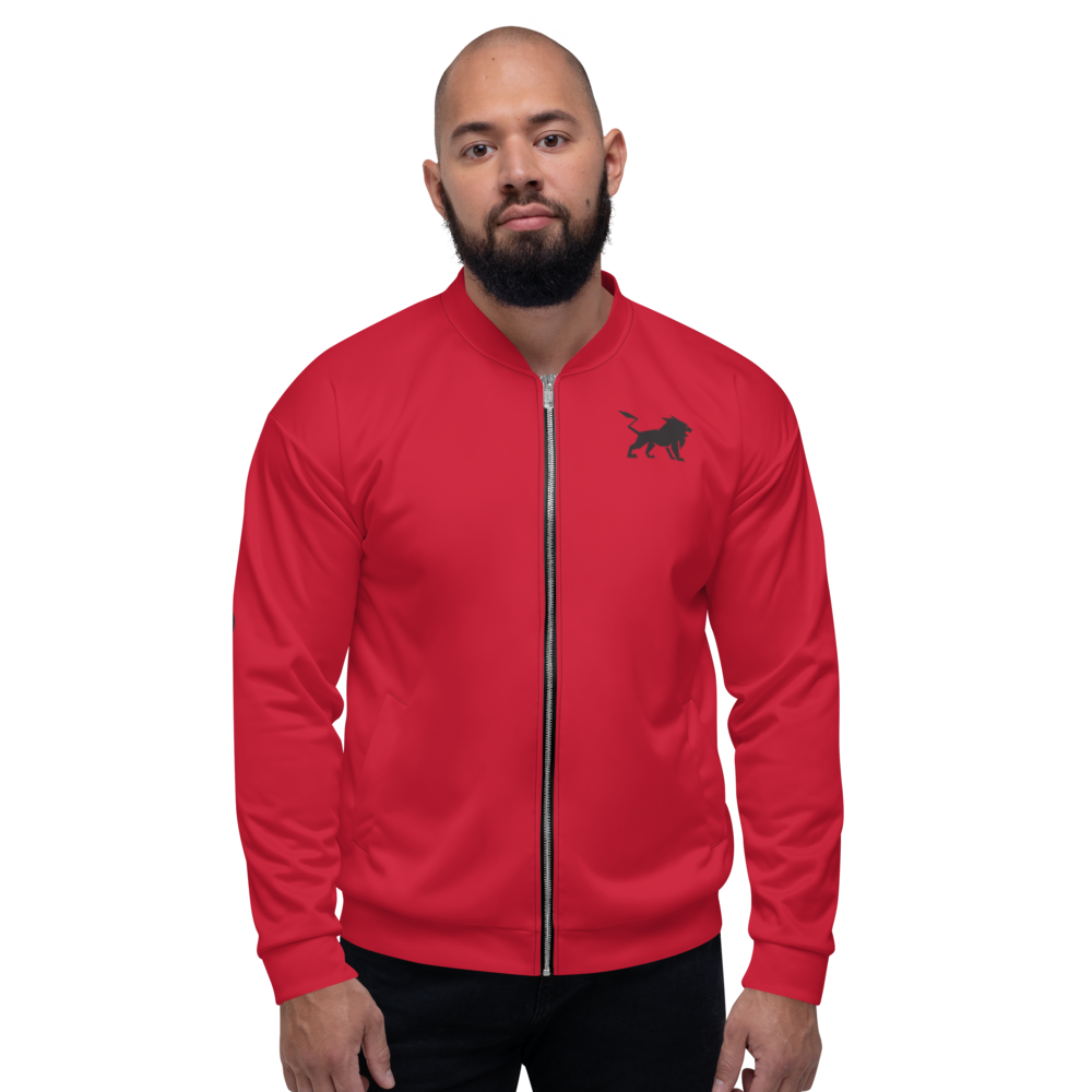 Red Alert Unisex Bomber Jacket