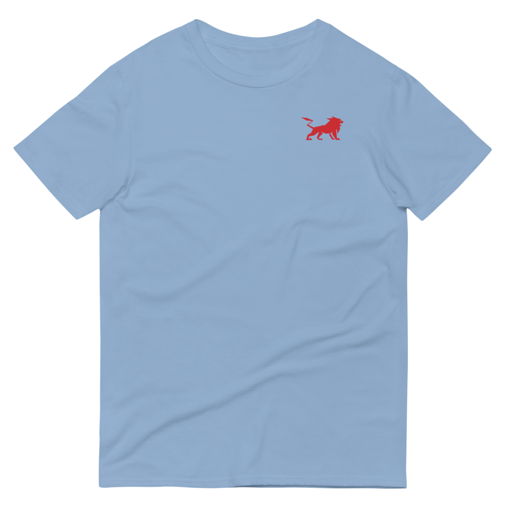 Original V2 Short-Sleeve T-Shirt with Front and Back RED Logo