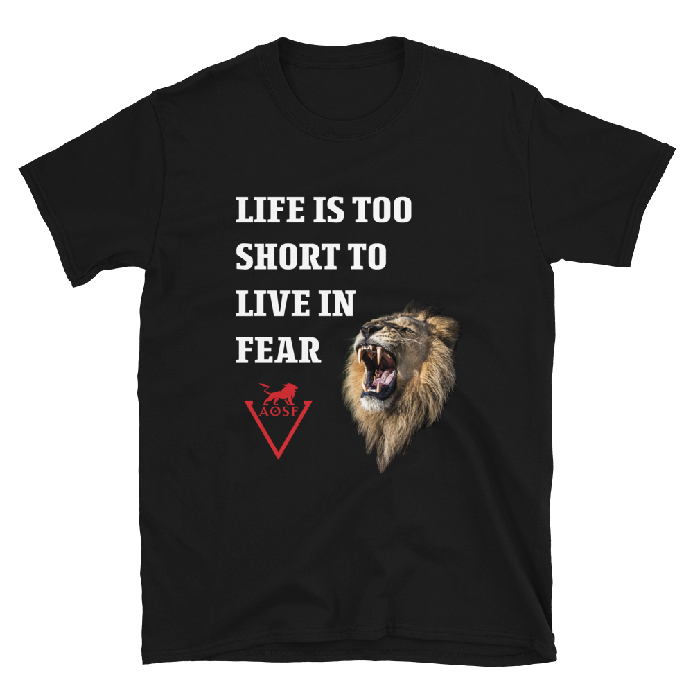 Without Fear Short-Sleeve Unisex T-Shirt
