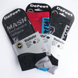MASH Shop Charcoal Wool High Socks