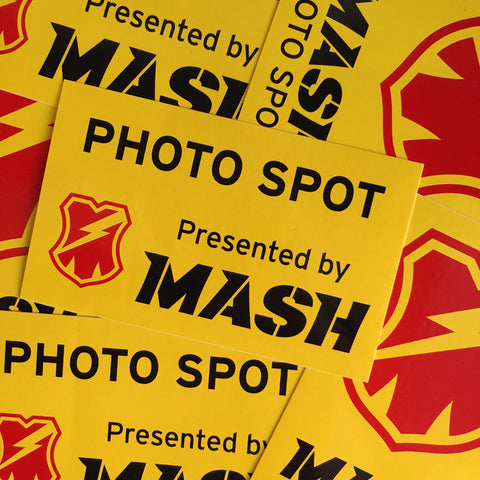 MASH PHOTO SPOT STICKER PACK