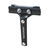 Minoura Rear Mount Saddle-Rail Bracket for One Cage