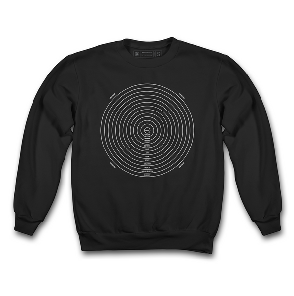 MASH CHART FLEECE CREW NECK