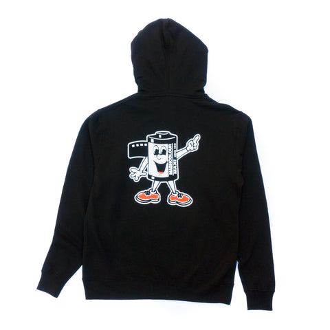 MASHCOLOUR HOODED SWEATSHIRT BLACK