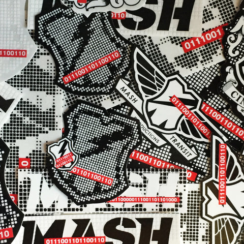 MASH Binary Sticker Pack