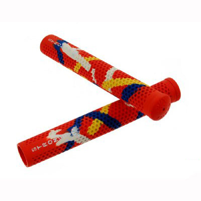Strong V Track Grips Red Camo