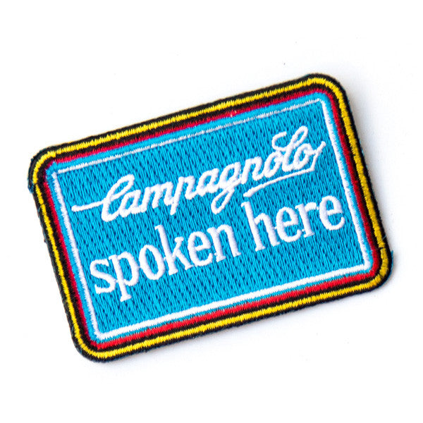 Campagnolo Spoken Here Patch