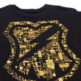 Circuit Pocket T-Shirt Black/Gold