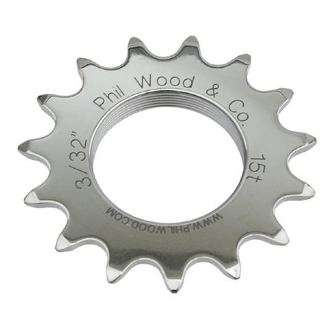 Phil Wood Track Cog Stainless 1/8