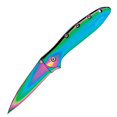 Kershaw Rainbow Leek Knife