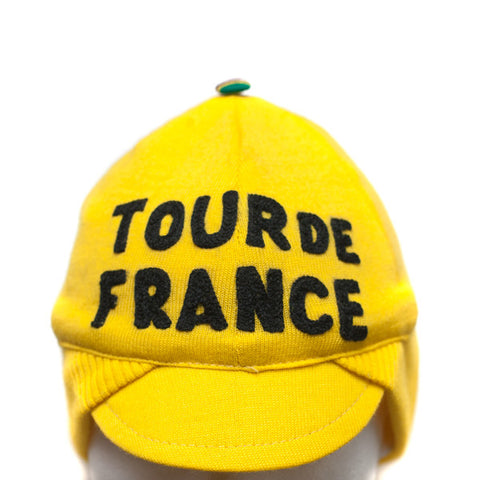Vintage Tour de France Winter Wool Cap