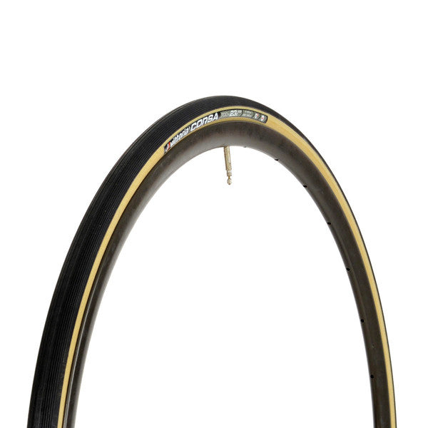 Vittoria Corsa G+ 700 x 28 Folding Tire: Natural/Black/Black