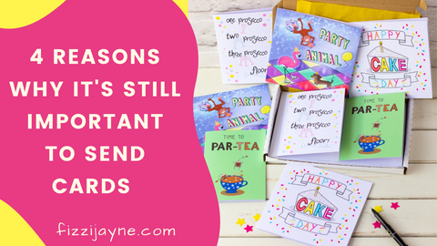 4 reasons why it's still important to send cards