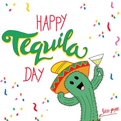 Happy Tequila Day Happy Cactus