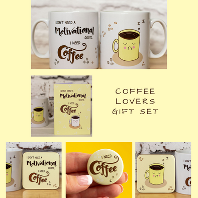 Coffee Lovers Gift Set - fizzi~jayne