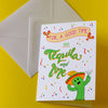 For A Good Time Add Tequila and Lime. Fun Greeting Card - fizzi~jayne