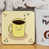 Coffee Lovers Mug and Two Coaster Gift Set