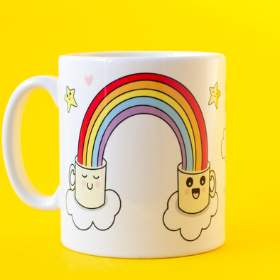 Cute Mugs and Rainbows. Mug Of Joy