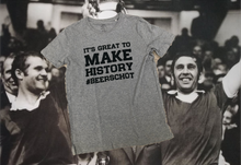 "Load image into Gallery viewer, ""It's great to make history #Beerschot"" T-shirt(s)"
