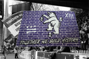 "Vlag ""Together we build history"" XIII"