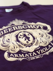 """ARMATA VIOLA"" T-SHIRT (Mauve of Wit)"