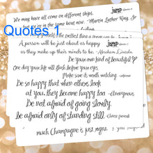 Load image into Gallery viewer, Quotes inspiration stickers | for Erin Condren Happy Planner Sticker