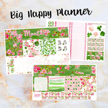 Load image into Gallery viewer, Any Month Monthly - BLOSSOMS monthly view spread - ECLP, Happy Planner Classic Big Mini, Recollection - pick a month floral spring