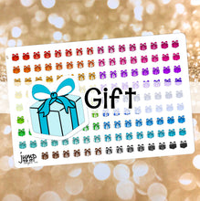Load image into Gallery viewer, Gift Functional rainbow stickers  - Happy Planner Erin Condren Recollection TN - party birthday present