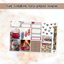 Load image into Gallery viewer, Mittens & Marshmallows sampler stickers - for Happy Planner, Erin Condren Vertical and Horizontal Planners