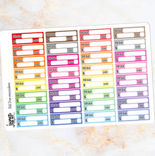 Load image into Gallery viewer, Bill Due Reminders - for Erin Condren Happy Planner Sticker - bookkeeping
