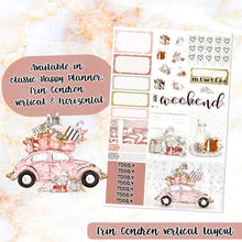 Load image into Gallery viewer, Hello Winter sampler stickers - for Happy Planner, Erin Condren Vertical and Horizontal Planners