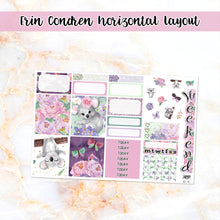 Load image into Gallery viewer, Koala Love sampler stickers - for Happy Planner, Erin Condren Vertical and Horizontal Planners