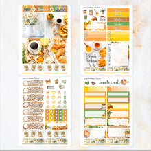 Load image into Gallery viewer, Brunch - POCKET Mini Weekly Kit Planner stickers - summer neutral