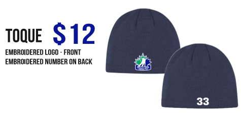 VALLEY EAST RINGETTE  BOARD TOQUE
