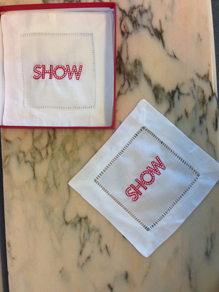 SHOW Cocktail Napkins