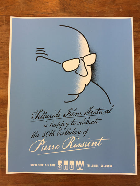 Le Pierre Theater: Pierre Rissient Birthday Poster