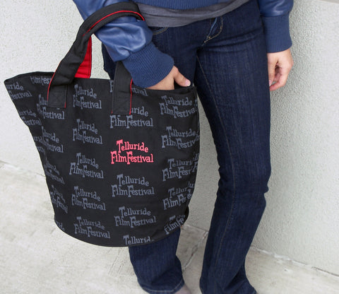 Logo Repeating Tote Bag