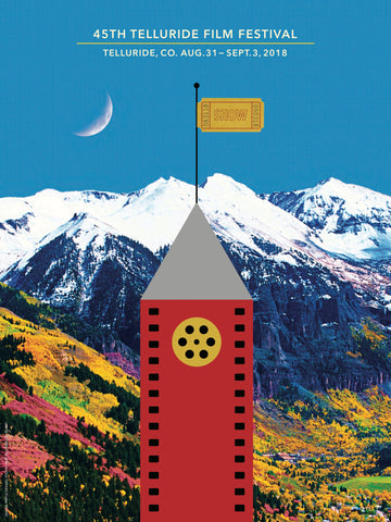45th Telluride Film Festival Poster Art