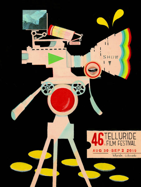 46th Telluride Film Festival Poster Art