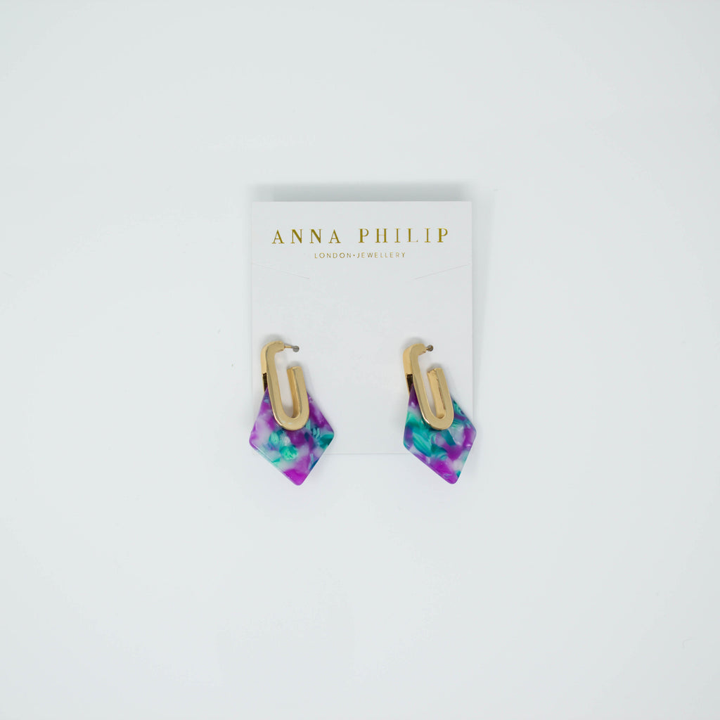 MAYA EARRINGS (MULTI) - Anna Philip