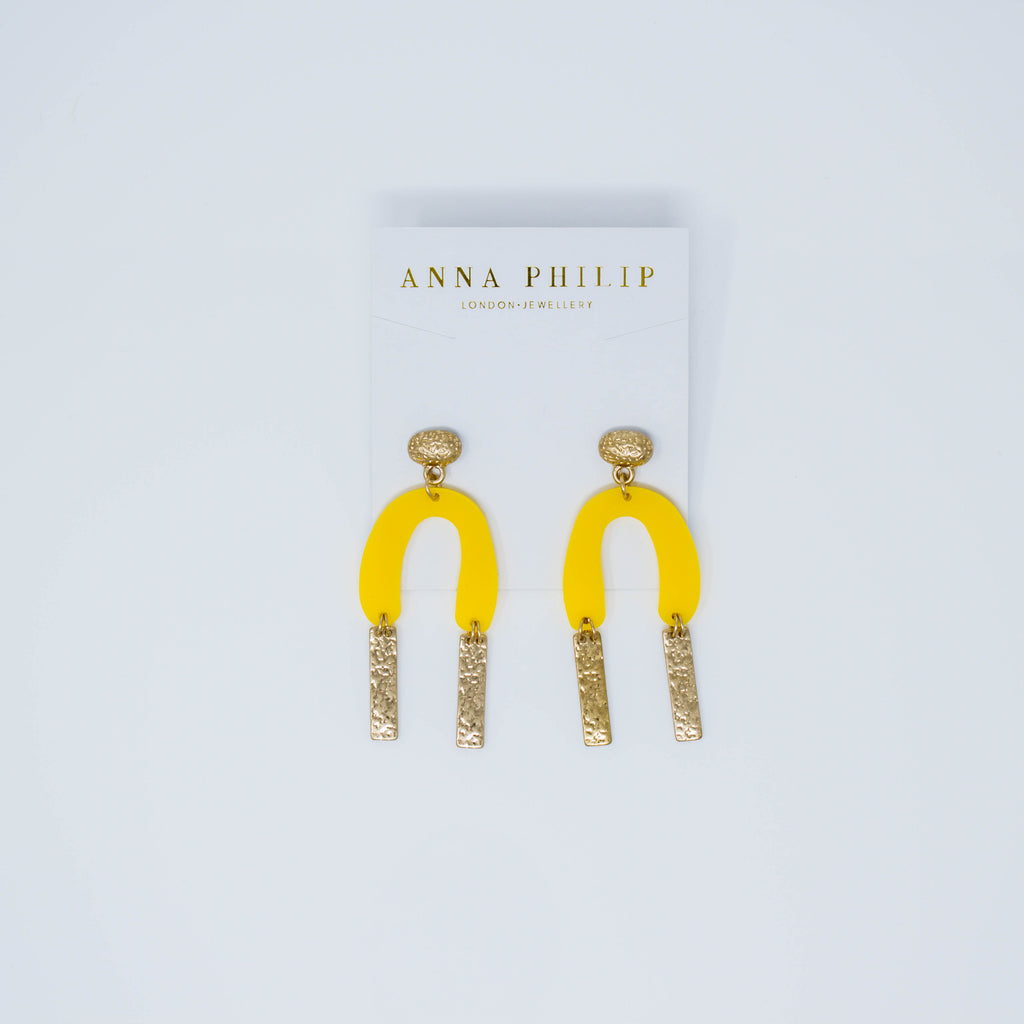 YELLOWBONE EARRINGS - Anna Philip