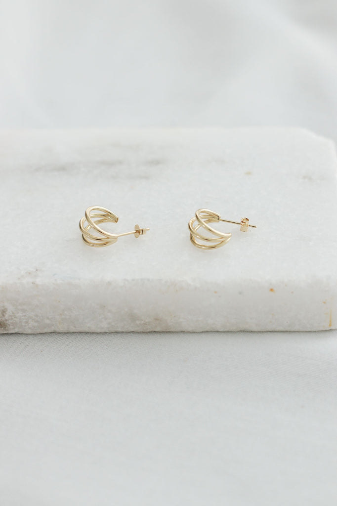 IRAWỌ EARRINGS (Sterling Silver Collection)