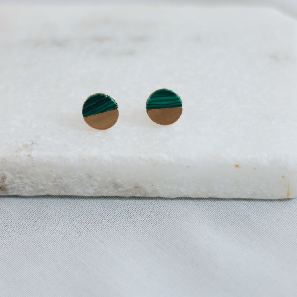 ZORA EARRINGS - GREEN