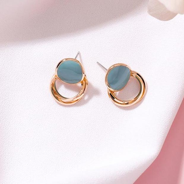 KIRA EARRINGS (BLUE) - Anna Philip