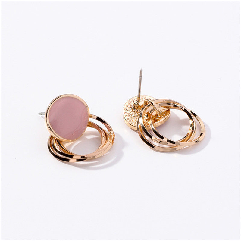 KIRA EARRINGS (PINK) - Anna Philip