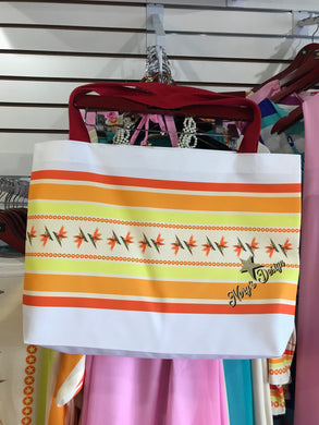 Bird of Paradise Beach Tote Bag